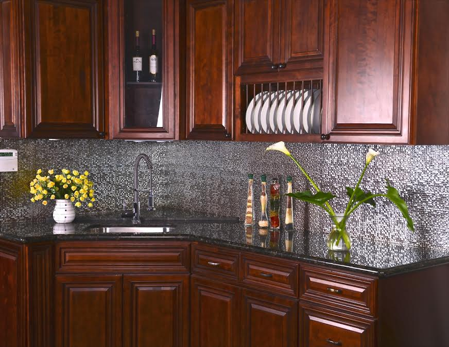 Cinnamon Glaze Cabinets Salt Lake City
