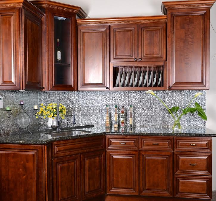 Cinnamon Glaze  Salt Lake City, Utah  AWA Kitchen Cabinets