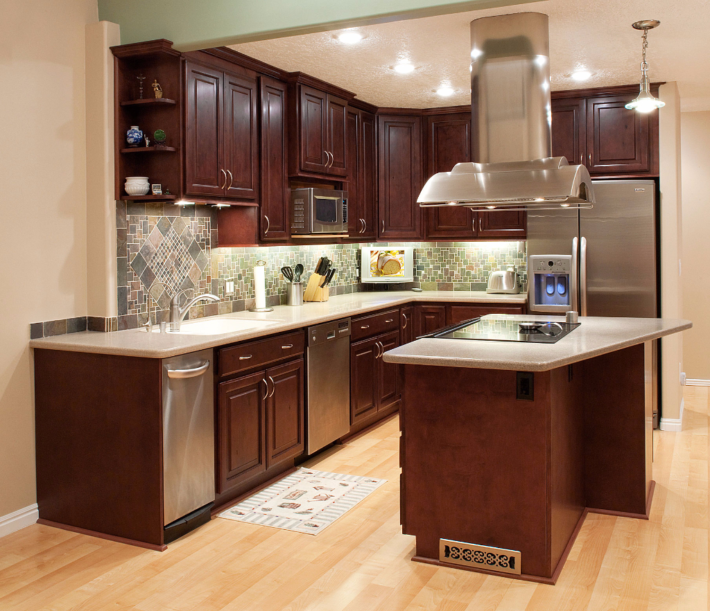 Mahogany salt lake city utah awa kitchen cabinets - Photos of kitchen ...
